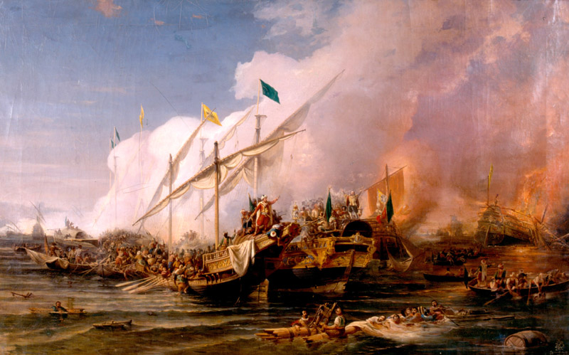 Battle of_Preveza_1538