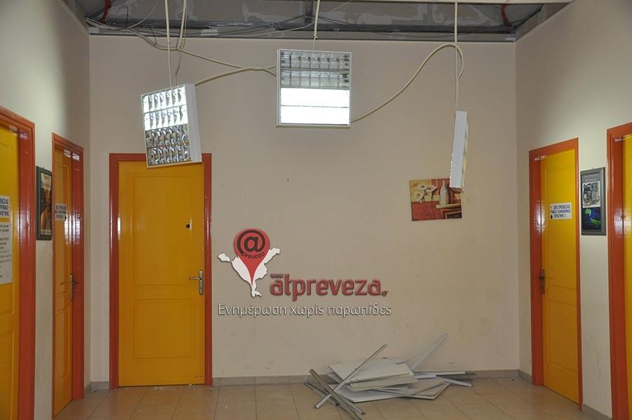 Στεγαστική συνδρομή για την αποκατάσταση των ζημιών σε κτίρια της Πρέβεζας, που επλήγησαν από το σεισμό της 5ης Φεβρουαρίου
