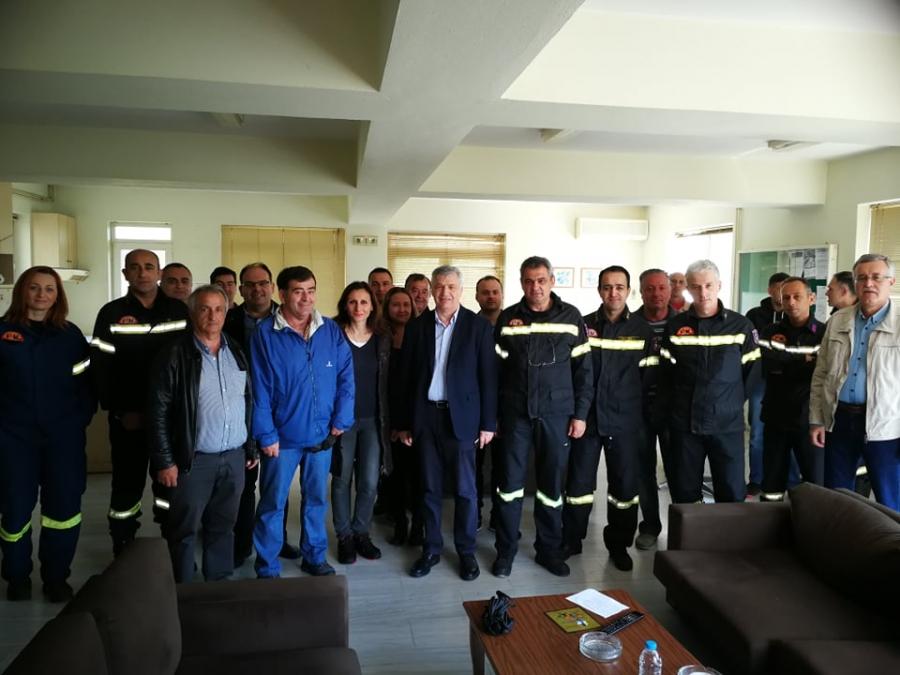 Πρέβεζα: Διαδοχικές επισκέψεις στην Πυροσβεστική Υπηρεσία, την Αστυνομική Διεύθυνση και το Λιμεναρχείο Πρέβεζας πραγματοποίησε ο υποψήφιος Δήμαρχος Πρέβεζας Χρήστος Μπαΐλης