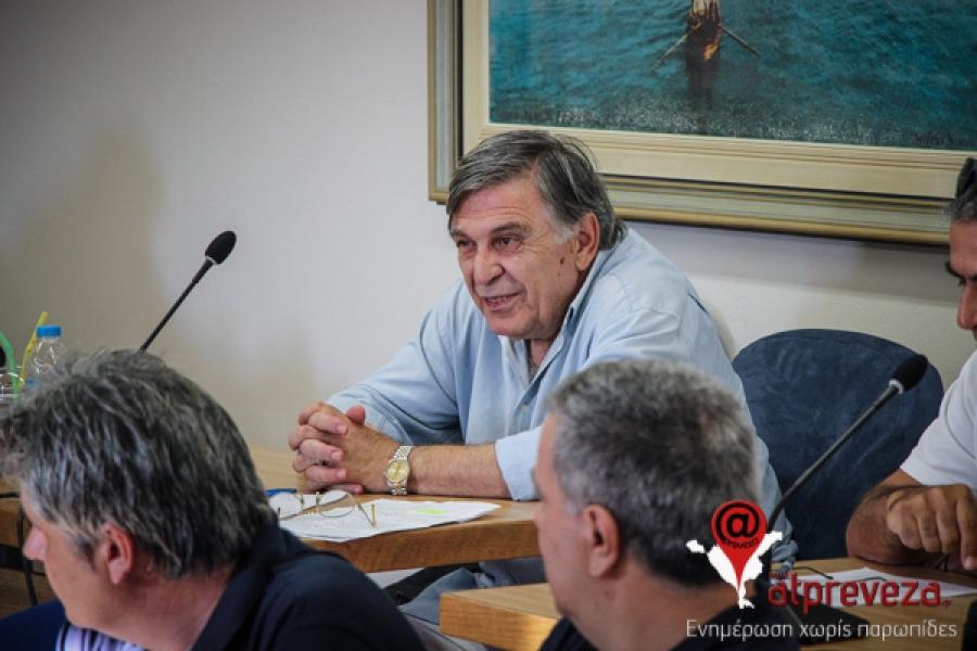 Πρέβεζα: Δικαίωση Τάκη Παππά για τα αναπληρωματικά μέλη της ΔΕΥΑΠ
