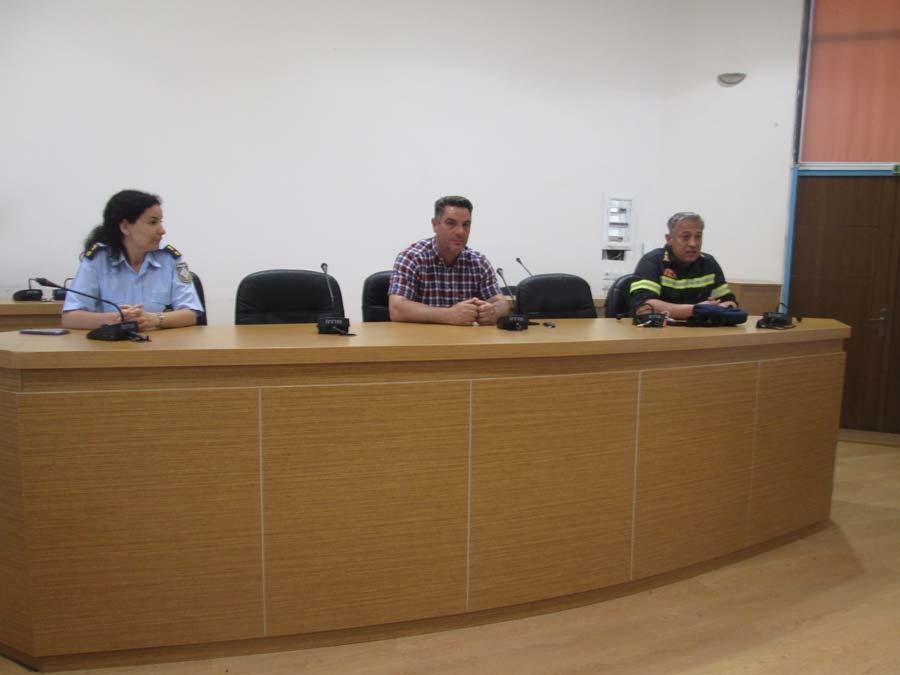 Συνεδρίασε το Σ. Τ. Ο. Πολιτικής Προστασίας του Δήμου Ζηρού για τη λήψη μέτρων πρόληψης και πυροπροστασίας