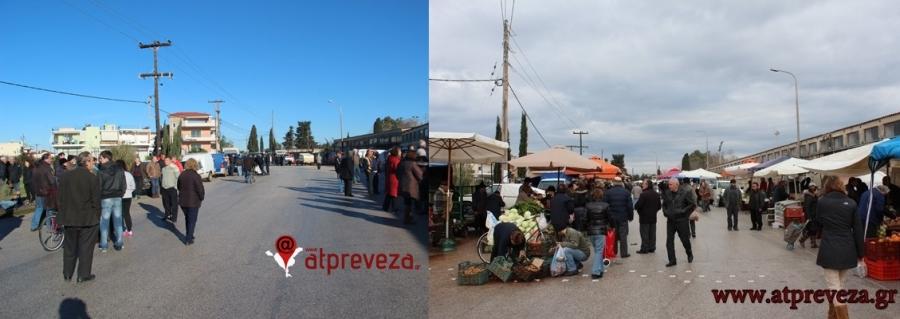 Λαϊκή Αγορά θα θεσμοθετηθεί και θα λειτουργήσει στην Πρέβεζα στην οδό Τζαβέλα