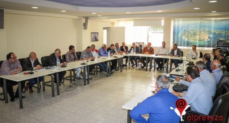 Σε προτεραιότητα η άμεση κήρυξη της Κρυοπηγής σε κατάσταση έκτακτης ανάγκης-Ευρεία σύσκεψη στην Π.Ε. Πρέβεζας