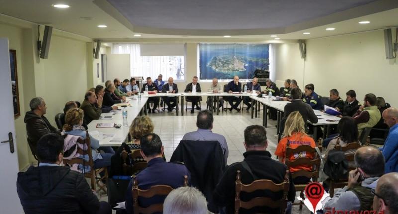 Συνεδρίασε το Συντονιστικό Όργανο Πολιτικής Προστασίας Π.Ε.Πρέβεζας-Σε αυξημένη ετοιμότητα οι υπηρεσίες