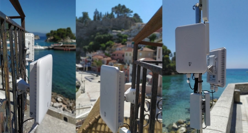 Ολοκληρώθηκε το έργο Ανάπτυξη Ασύρματων Ευρυζωνικών Δικτύων στο Δήμο Πάργας-Δωρεάν wifi σε 3 κεντρικά σημεία του δήμου
