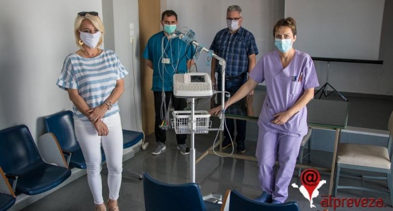 Δωρεά ενός σύγχρονου Ηλεκτροκαρδιογράφου στο Γενικό Νοσοκομείο Πρέβεζας