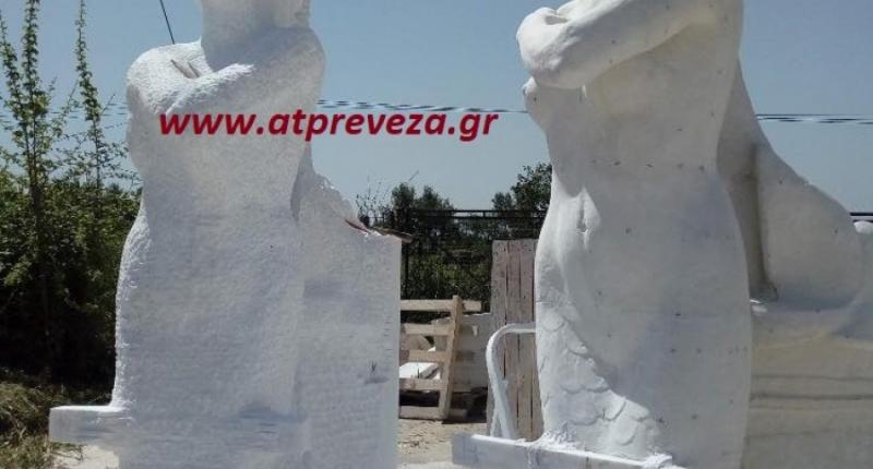 Αυτή τη μορφή θα έχει η γοργόνα στο λιμάνι της Πρέβεζας (photo)